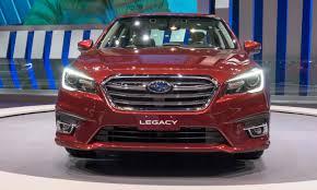 red subaru legacy 2017 2017 chicago auto show subaru reveals 2018 legacy autonxt