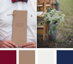 fall wedding color palette 5 fall wedding color palettes weddbook