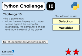 python challenges for ks3 4 zigzag education