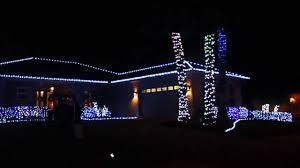 christmas light display to music near me religious christmas music set to house light display 2013 youtube