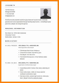 Resume Template For Word 2013 3 Simple Resume Format In Word Doctors Signature