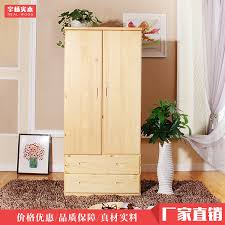 Armoire Solid Wood Closet Full Of Solid Wood Pine Armoire Wardrobe Child