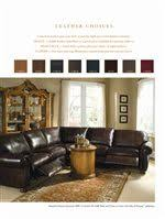 Thomasville Ashby Sofa Thomasville Leather Choices Ashby Select Leather Sofa With