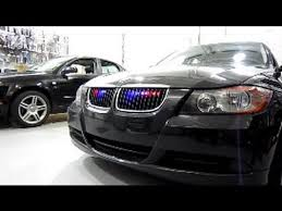 strobe lights for car headlights l e d red blue strobes bmw e90 youtube