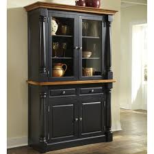 Home Styles Monarch Kitchen Island Home Styles Monarch China Cabinet Black U0026 Oak Hayneedle