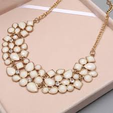big necklace pendants images Minhin new popular 8 colors multicolor big pendant clavicle chain jpg