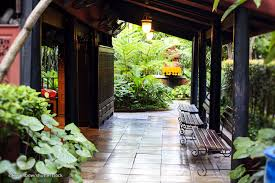Plan De Maison Antillaise Jim Thompson House In Bangkok