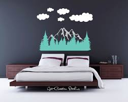 forest wall decal tree decal mountain wall decal mountain range forest wall decal tree decal mountain wall decal mountain range decal pine tree decal rocky mountain