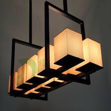 Box For Lights New Style Rectangle Restaurant Pendant Light Square Box