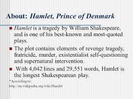 supernatural themes in hamlet hamlet prince of denmark presentter 陳孟君 date 4 11 ppt download
