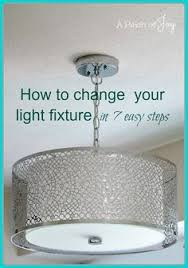 how to change light fixtures in 7 easy steps a pinch of joy