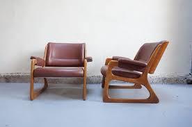 siege eames vendu paire fauteuil baumann vintage design ées 50 60 70
