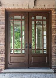 Home Interior Arch Design Elegant Mahogany And Glass Arch Double Front Door Home Design