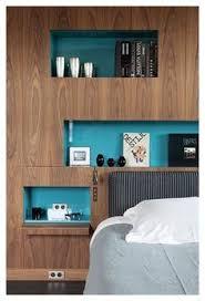 In Wall Shelves by Idea Para El Muro De Rectangulos Y Espejos Bibliotecas