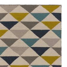 teppich mit sternen teppich barli oliv dunkelblau petrol mit streifen und