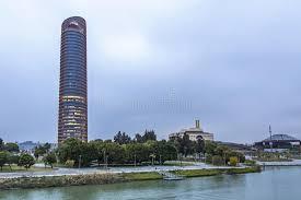 bureau ville la grand sevilla tower gratte ciel de bureau dans la ville de séville