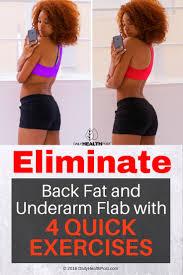 4 quick underarm fat exercises that fight extra flab