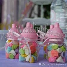 baby shower bottle favors fillable bottles candy boxes baby bottle favors box baby shower
