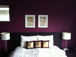 bedroom accent wall beautiful shade of purple this is the color