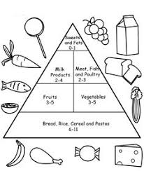 printable food pyramid activities food pyramid coloring pages