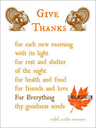 getting ready for thanksgiving a printable ralph waldo emerson