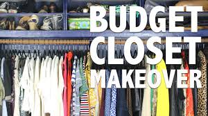 budget closet makeover hgtv handmade youtube