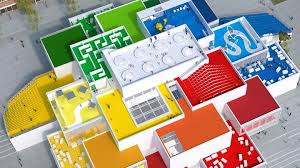 full size lego house there s a life sized lego house and you could stay there for free