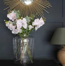 Unique Flower Vases Clear Glass Flower Vase