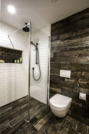 dark tiles in bathroom best paint color for with no windows