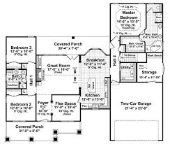 house plans with covered porch 3 bedrm 1800 sq ft ranch house plan 141 1239