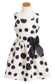 double bow dress toddler girls