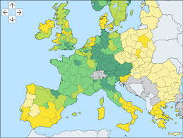 France Regions Map by 14 02 15 Matthew C Klein Euro Area Divergence More About