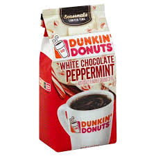Flavored Coffee Dunkin Donuts White Chocolate Peppermint Flavored Coffee Smartlabel