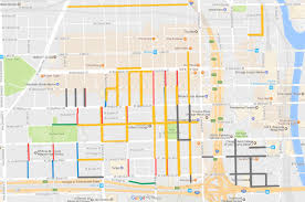 Map Of Chicago Loop by Nowl Statement On Proposed West Loop Resident Permit Parking