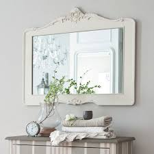 White Framed Mirrors For Bathrooms Rectangular White Stained Wooden Bath Cabinet Storage Teak Wood