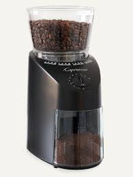 Burr Coffee Grinder Bed Bath And Beyond Capresso Cleaning Solution