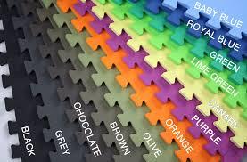 Interlocking Rubber Floor Tiles 5 8