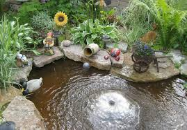 backyard pond fountains accessories