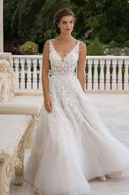 wedding dress sheer straps straps a line wedding dress fashion dresses