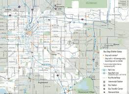Denver Neighborhoods Map Denver Colorado Usa Map The 50 States Of The United States
