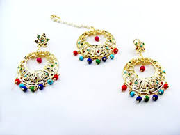 lotan earrings punjabi earring jewelry