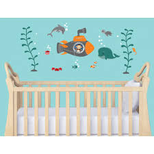 Removable Nursery Wall Decals Nursery Wall Decals With Nautical Wall Decor For Baby Room