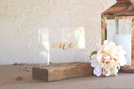 acrylic table numbers wedding acrylic table numbers for weddings and events by zcreatedesign