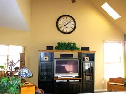 Apartments Awesome Ideas About Vaulted Ceiling Decor Wall Units
