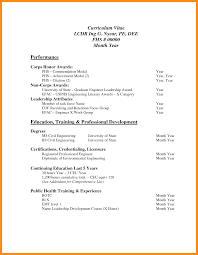 Sample Resume Format For 1 Year Experience In Net by 8 Standard Cv Format Pdf Resume Setups