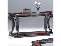 Fairmont Designs Furniture Fairmont Designs Grand Estates Console Table W Glass Inserts