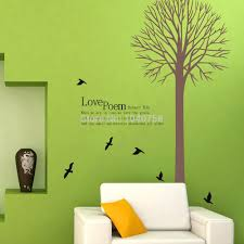 26 wall decals for kids rooms tree wall decals tree wall murals family tree wall decals birds wall stickers for kids rooms wall decals