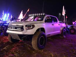 widebody tundra long travel toyota tundra prerunner by lsk with supercharger