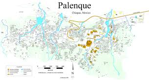Central Mexico Map by The Ancient City Of Palenque Is Both Grand And Mysterious