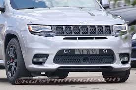 jeep inside view spied 2018 jeep grand cherokee trackhawk in the buff